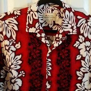 Royal Hwaiian creations shirt sz M